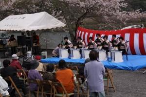 こっとん村さくら祭り(平成27年4月5日)