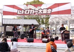 レトロカー大集合(平成27年3月22日)