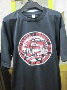 ボンネットバスTシャツ
