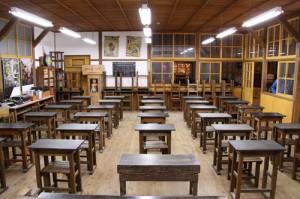 昭和の夢町小学校(昭和の夢町三丁目館内)