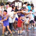 昭和の町打ち水大作戦(平成27年7月25日)